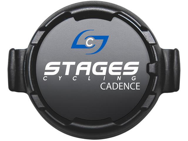 Stages Cycling Dash Kadencesensor, sort